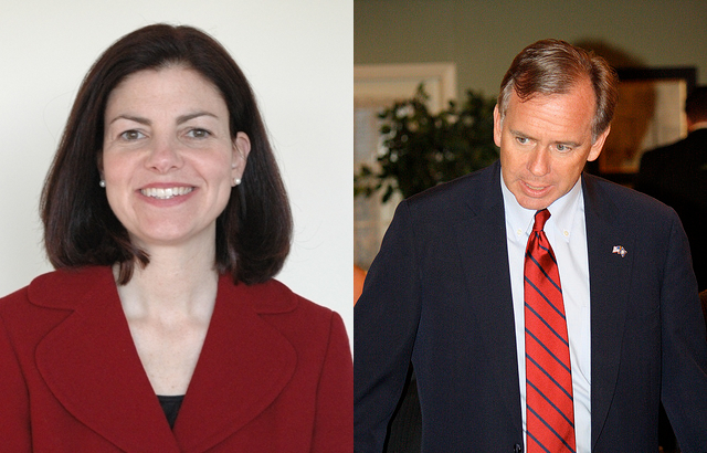 Binnie closing on Ayotte in New Hampshire