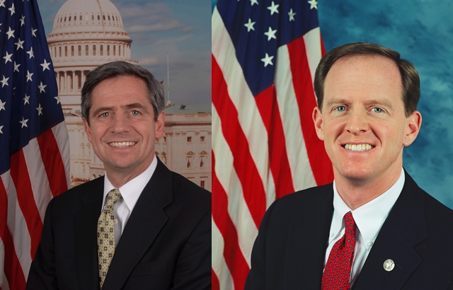 Toomey comfortably ahead, says two (and a half) polls