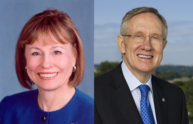 The new normal in Nevada: Reid and Angle tied
