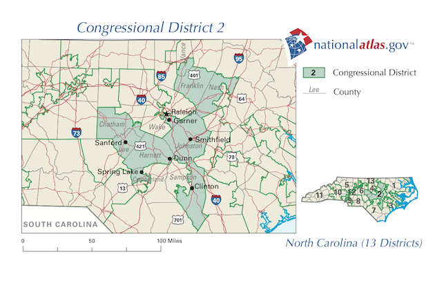 Flash poll on NC-02, Etheridge v Ellmers