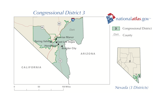 Freshman Democrat endangered in Nevada