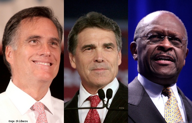Analyzing the top three as two more polls boost Cain