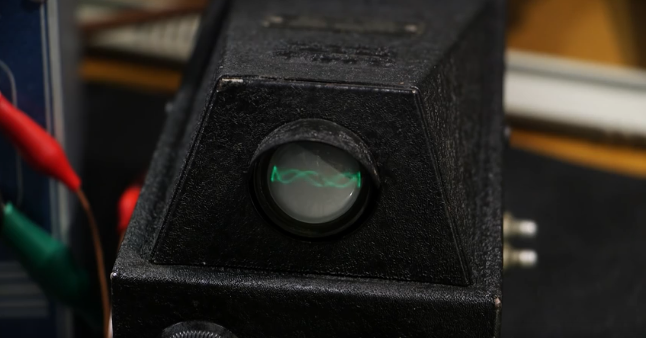 Restoring Old Technology: a 1930s-era Oscilloscope